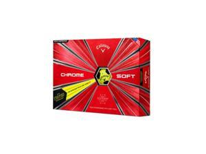 Callaway Chrome Soft Truvis Golf Ball 12-Pack Yellow/Black - 64213551223