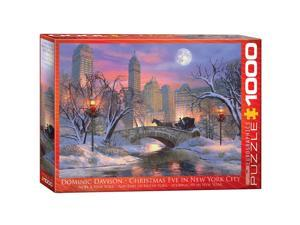 Christmas Eve In New York City 1000 Piece Puzzle