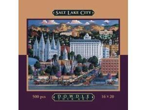 Salt Lake City 500 Piece Puzzle