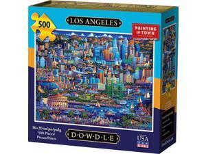 Los Angeles 500 Piece Puzzle