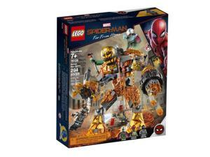LEGO Marvel Spider Man 76128 Molten Man Battle Block Building Set w/ 3 Figures