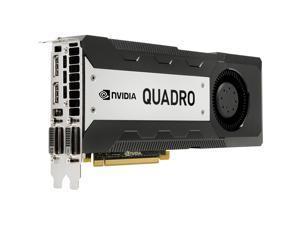 NVIDIA Quadro K6000 12GB GDDR5 384-bit PCI Express 3.0 x16 Full Height Video Card