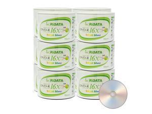 Ridata DVD-R 16X 4.7GB 120 Min Silver Inkjet Hub Printable Blank Data Video Media Recordable Disc (600 Pack)