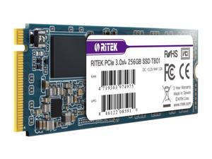 Ritek 256GB SSD PCIe NVMe M.2 2280 Internal Solid State Drive 3D NAND Read upto 2000MB/s Write upto 1000MB/s