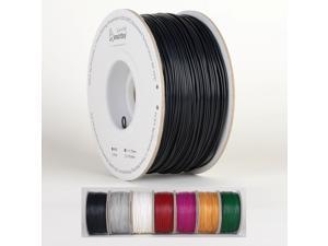Smartbuy 1.75mm Black ABS 3D Printer Filament - 1kg Spool / Roll (2.2 lbs) - Dimensional Accuracy +/- 0.05mm