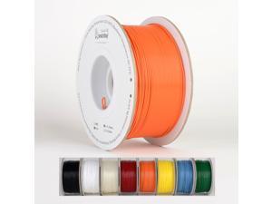 Smartbuy 1.75mm Orange PLA 3D Printer Filament - 1kg Spool / Roll (2.2 lbs) - Dimensional Accuracy +/- 0.05mm