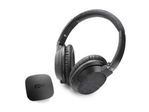 MEE audio Connect T1M3 Bluetooth Wireless Headphone System for TV - Includes Bluetooth Wireless Audio Transmitter and Matrix3 Wireless HD Headphones w/ aptX Low Latency Technology