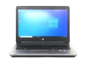 "HP ProBoook 640 G1 Laptop 14"" i3 4000M 2.4GHz 8GB 320GB Win 10 Pro No Webcam"