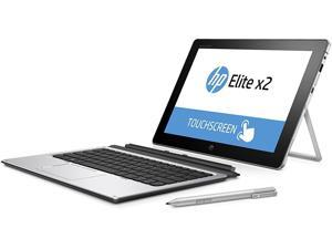 """HP Elite X2 1012 G1 Detachable 2-IN-1 Business Tablet Laptop 12"""" FHD IPS Touchscreen (1920x1280) Intel Core m5-6Y57 128 GB SSD 8GB RAM WiFI BT Webcam Windows 10 Pro with Keyboard and Stylus"""