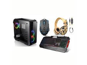 PRC Pro Gaming Desktop PC 9th Gen. Intel i9-9900K 8-Core 3.6GHz 16GB DDR4-3000 RGB RAM NVIDIA GeForce RTX 2080 Super 8GB GDDR6 1200Mbps WiFi 2TB NVMe SSD W10P