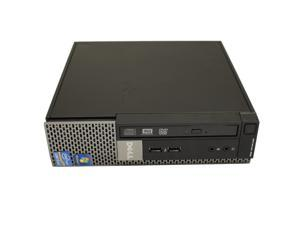 Dell OptiPlex 990 USFF Desktop Computer Intel Quad-Core i5 CPU 8GB DDR3 RAM 256 GB SSD DVDRW WiFi  Windows 10 Professional 64-Bit