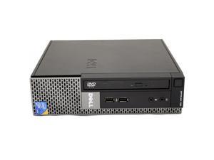 Dell OptiPlex 780 USFF Desktop Intel Core 2 Duo E8400 3.0GHz 4GB DDR3 RAM 250 GB HD DVD-RW WiFi Bluetooth Microsoft Windows 10 Pro