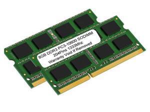 Hynix 16GB Kit (8GBx2) DDR3/DDR3L 1333 MT/S (PC3-10600) Unbuffered SODIMM 204-Pin Memory