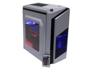 Custom RGB DIY Intel Gaming PC i7-3770 Quad Core 3.4Ghz 16GB Crucial Ballistix DDR3 RAM 500GB SSD 2TB HD GeForce GTX 1060 3GB HDMI WiFi LG DVDRW Windows 10 Pro