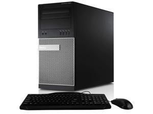 Dell OptiPlex 990 Mini Tower Intel Core i7-2600 16 GB DDR3 RAM 256 GB SSD DVD-RW Windows 10 Pro WiFi