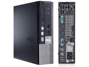 Dell OptiPlex 9020 USFF Desktop Intel Core i5-4570 3.2GHz 8GB RAM 1TB HD DVD-RW WiFi Windows 10 Pro