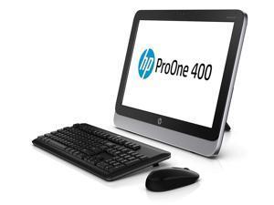 "HP ProOne 400 G1 All-in-One LED 19.5"" 1600 x 900 (HD+) Resolution - 4th Gen Intel Core i5-4570T 2.9 GHz 8GB DDR3 RAM 128 GB SSD DVD-RW Webcam Windows 10 Pro 64-Bit"