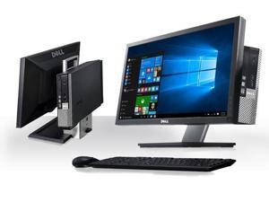 "Dell OptiPlex 990 SFF All-in-One with Dell 22"" 1920 x 1080 Monitor Desktop PC- Intel Core i5-2400 3.1GHz 16GB RAM 1TB HD DVD-RW Windows 10 Pro"