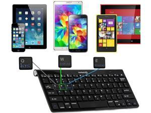 Navitech USB-C/Type C Docking Staion - Bluetooth Keyboard and Stand Compatible with The Samsung Galaxy Tab S 10.5-inch Tablet | Samsung Galaxy TAB S4 10.5 SM-T830
