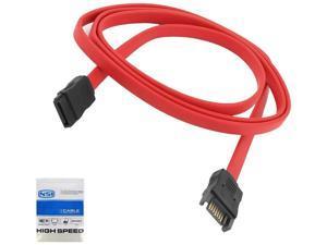 NSI LK-13526 7-pin internal SATA Male to SATA Female Extension cable - 7 pin SATA M/F - 20 inch (50 cm)