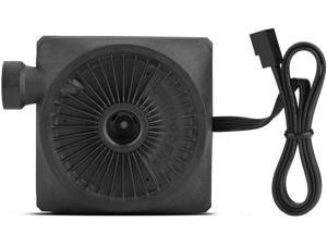 Yoidesu 90mm 8 Tubes Water Cooling Radiator Fan Heat Exchanger Fan Faster Heat Dissipation Water Cooling Radiator Fan for Computer Water Cooling System