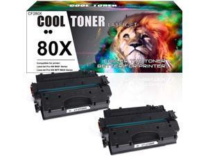 4PK CF280X 80X Compatible Laser Toner For HP LaserJet Pro 400 M425dw M401d M401n