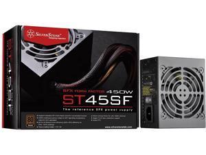 SilverStone Technology 450W SFX Form Factor 80 Plus Bronze Power Supply (ST45SF-V3-USA), SST-ST45SF-V3-USA