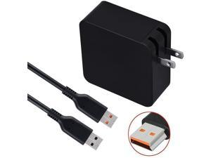65W AC Charger Compatible for Lenovo-Yoga 3 1170 1470 1370 pro ADL65WCC ADL40WCC ADL40WDB ADL40WDA ADL40WLC GX20H34904 80MK 80UE Model Laptop Power Supply Adapter Cord