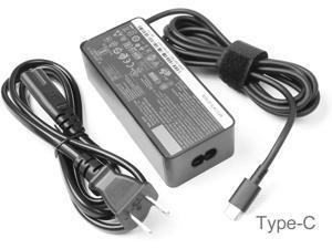 2 Prong 65w USB-c ac Adapter for Lenovo thinkpad Charger T480 T480s T490 T490s T495 T495s T580 T590 E480 E490 E490s E495 E580 E590 E595 X1 Carbon X395