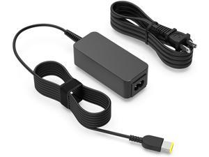 45W 65W AC Charger Fit for Lenovo IdeaPad Yoga 2 Pro 11 13 14 15 PA-1650-37LC PA-1650-37LF ADP-45TD B ADP-65FD ADP-65XB A Model 80CX 80DL 80GB 80DM Touchscreen 2 in 1 Laptop Power Supply Adapter Cord