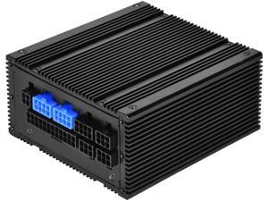 SilverStone Technology SST-NJ450-SXL Small Form Factor 100% Fanless Fully Modular SFX-L 450 W 80 Plus Platinum Power Supply
