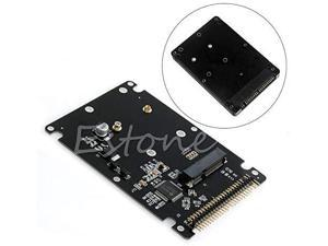 V2AMZ 2.5 Male IDE To 7+15 Pin Female SATA HDD SSD Converter Adapter For laptop #H029#