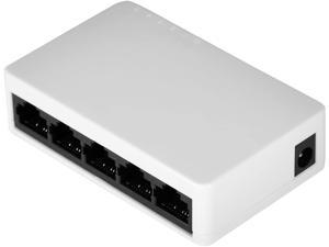 Ethernet Switch, Plug and Play Network Switch, Networking Accessories Networking Supplies for Home and Office Computer Networking