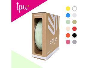 EOLAS PRINTS TPU+ 3D Printer Filament 1.75mm 0.25 kg Spool, Mint
