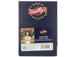 Timothy's World Coffee, French Vanilla, K-Cup Portion Pack, 96 Count