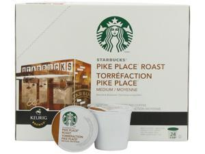Starbucks Pike Place Medium Roast Coffee, K-Cup Portion Pack, 24 Count