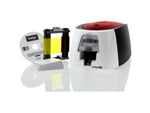 Badgy Single Sided Dye Sublimation/thermal Transfer Printer - Color - Card Print - 100 Card Feeder,