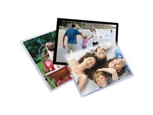 """Royal Sovereign RF054X6C0025 4 3/8"""" x 6 1/2"""" Card / Photo Thermal Laminating Pouch - 25/Pack"""