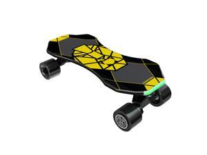 "SWAGTRON Swagskate NG3 Electric Skateboard for Kids, Teens | Kick-Assist A.I. Smart Sensors | Boosted Mini E-Cruiser Skateboard w/ Move-More/Endless Mode | 9"" Deck 72mm Wheels"