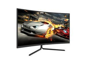 VIOTEK NV32Q True 4K Monitor 32-Inch Curved   60Hz 4ms (OD) Streaming-Ready 3840 x 2160p Monitor for Gaming/Movies   HDR-Ready 1500R VA Panel w/ FreeSync   HDMI 2.0 DP 1.2 Audio Out (VESA)