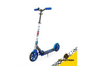 "SWAGTRON K8 Folding Kick Scooter with Kickstand for Kids & Teens, XL 8"" Big Wheels & ABEC-9 Bearings Lightweight, Height-Adjustable Stem, 220lb Rider Capacity"