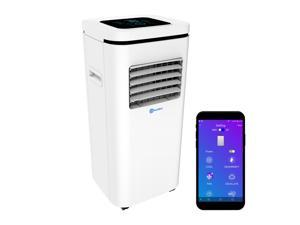 ROLLICOOL Alexa-Enabled Smart Portable AC 10,000BTU — Cool & Dehumidify Rooms up to 275 sq ft, Control w/ Alexa Voice Commands, Dual-Band WiFi & Bluetooth & iOS/Android App