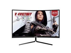 VIOTEK GNV27DBA2 27 Inch QHD 144hz Gaming Monitor with Low-Lag 1ms MPRT, Bezelless 16:9 2560 x 1440p VA Panel, Stunning 103% sRGB Colors w/ HDR, FreeSync, DisplayPort, HDMI, VESA 3 Years Warranty