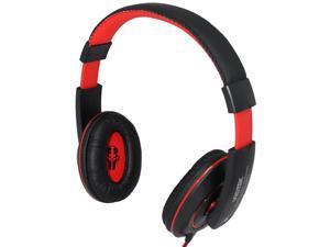 VIOTEK VT849MV  Hi-Fi Headphones - 40mm Drivers, Mini-Jack Interface, Microphone Attached for Cell Phone Headset Use