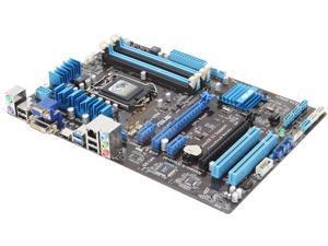 Asus P8H67-M LE LGA 1155 Desktop board w// Core I5-2500 8GB DD3  I//O Sheild