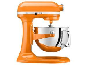 KitchenAid -- 6-quart Professional 600 Series -- Bowl-Lift Stand Mixer - Tangerine
