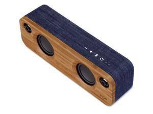 House Of Marley Get Together Mini Portable Bluetooth Speaker Denim EM-JA013-DN