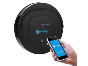 Rollibot BL-800 Wi-Fi Enabled Genius Automatic Robot Vacuum and Wet Mopping UV Cleaner for BOTH Carpet and Hardwood Floors