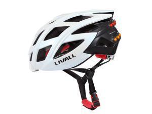Livall BH60 Bling Helmet with Bling Jet Controller, White