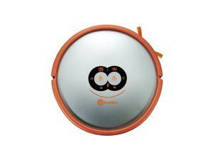 Top Ranked 3D Laser Mapping ROLLIBOT LASEREYE Robot Vacuum: 100% Clean Floors, Cliff & Object Detection, 2D Map w/ App - Orange